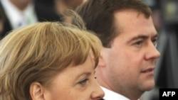 Дмитрия Медведева встретили в Германии, как и подобает встречать президента