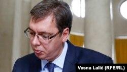 Сербия бош вазири Александр Вучич.