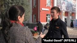 Tajiks have expressed little enthusiasm for the elections to RFE/RL correspondents.