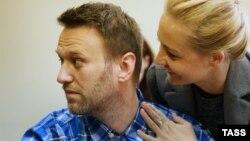 Алексей Навальный в Люблинском суде 23 апреля