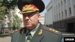 Ukraine -- Former commander of interior troops of Ukraine, General of the Army Alexander Kikhtenko