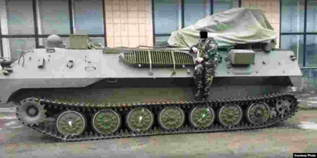 Самохідна артилерійська установка нової модифікації з Росії