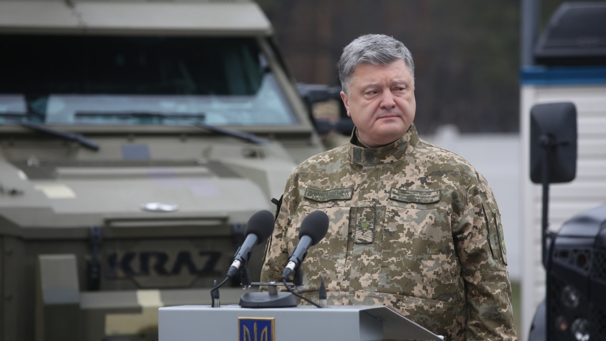 Ukraine President Orders Cease-Fire In Eastern Conflict Zone