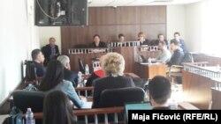 Oliver Ivanović u sudnici