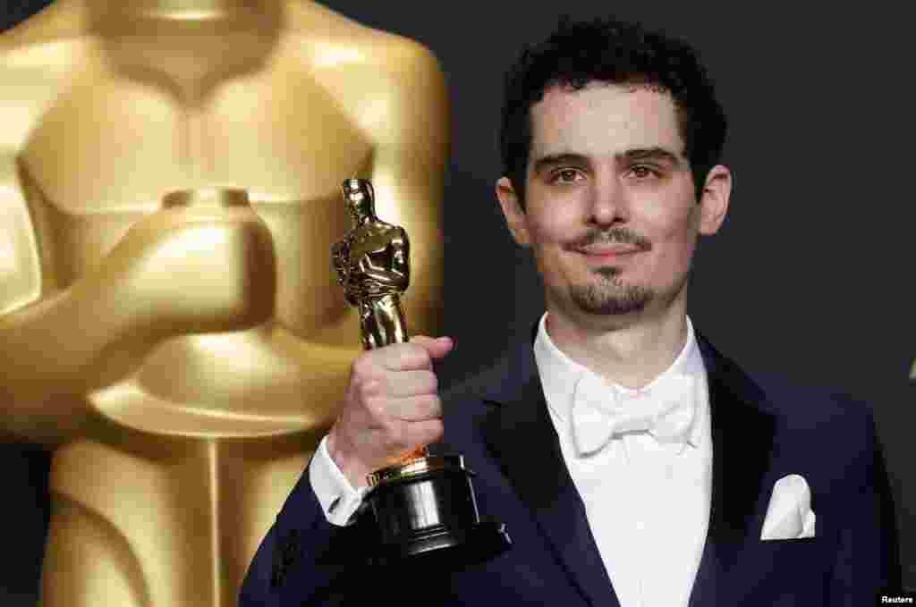 دمین چزل،برنده اسکار بهترین کارگردان برای فیلم عالم هپروت یا «لا لا لند»
