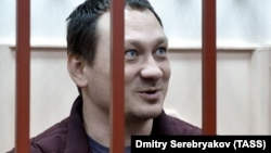 Igor Lyakhovets in a Moscow court in January