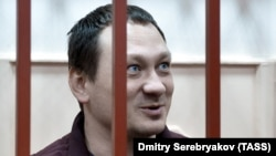 Igor Lyakhovets attends a court hearing in Moscow in January 30.