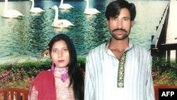 زوج کشته شده پاکستانی