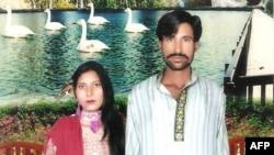 Pakistanda bir müddət əvvəl öldürülmüş xristian cütlük