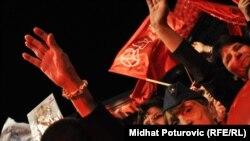 Predizborni skup SDP BiH, oktobar 2010