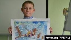 Іван Юрченко посів перше місце у своїй віковій категорії в номінації «Декламація» і «Малюнок»
