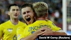 Финалист Лиги чемпионов Александр Зинченко забил пенальти в последнем контрольном матче перед Евро-2020