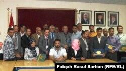 عدد من المشاركين في ورشة الارشاد الزراعي
