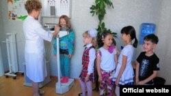 Медицинский пункт школы «Шанырак».