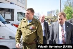 Олександр Захарченко, ватажок угруповання «ДНР»