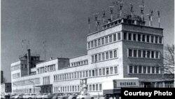 Першы будынак Радыё Вызваленьне ў Мюнхене.