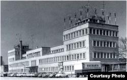 Первое здание Радио Освобождение в Мюнхене