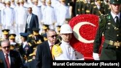 Recep Tayyip Erdogan Ankarada Zəfər bayramında, 30 avqust, 2019-cu il