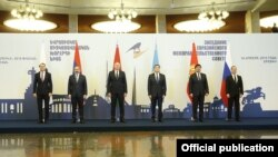 Armenia - The prime ministers of Eurasian Economic Union member states meet in Yerevan, April 30, 2019