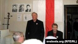 Уладзімер Кацора і Васіль Палякоў