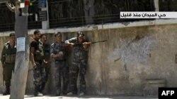 Дамаскта атышуулар жекшембиден бери уланып жатат, 18-июль, 2012