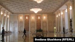 Қазақстан президентінің резиденциясы. Астана, 11 ақпан 2015 жыл.