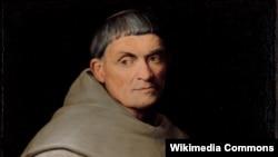 Fransiskalı rahib. Portretin müəllifi rəssam Jacopo Bassano