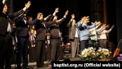 Богослужение баптистов в России, ноябрь 2018 года