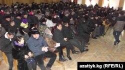 Депутаттар менен жолугушууга келгендер. 26-январь, 2016-жыл