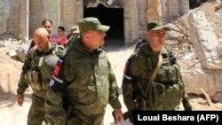 Российские военные в Сирии. Иллюстративное фото.
