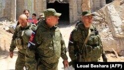 Российские военные в Сирии (иллюстративное фото)