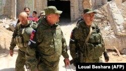 Российские военные в Сирии (архивное фото)