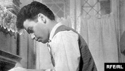 Azerbaijan -- composer Rafig Babayev in youthful years