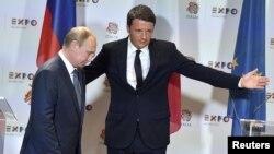 Итали-- Ренци Маттео а, Путин Владмир а Миланехь, Манг.10, 2015