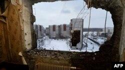 Донеччина, будинок після обстрілу (архівне фото)