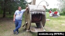 Дызайнэр і архітэктар Кірыл Кухарчук з Масквы і ягоная рыба