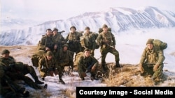Псковские десантники в Чечне, архивное фото