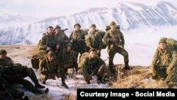 Псковские десантники в Чечне