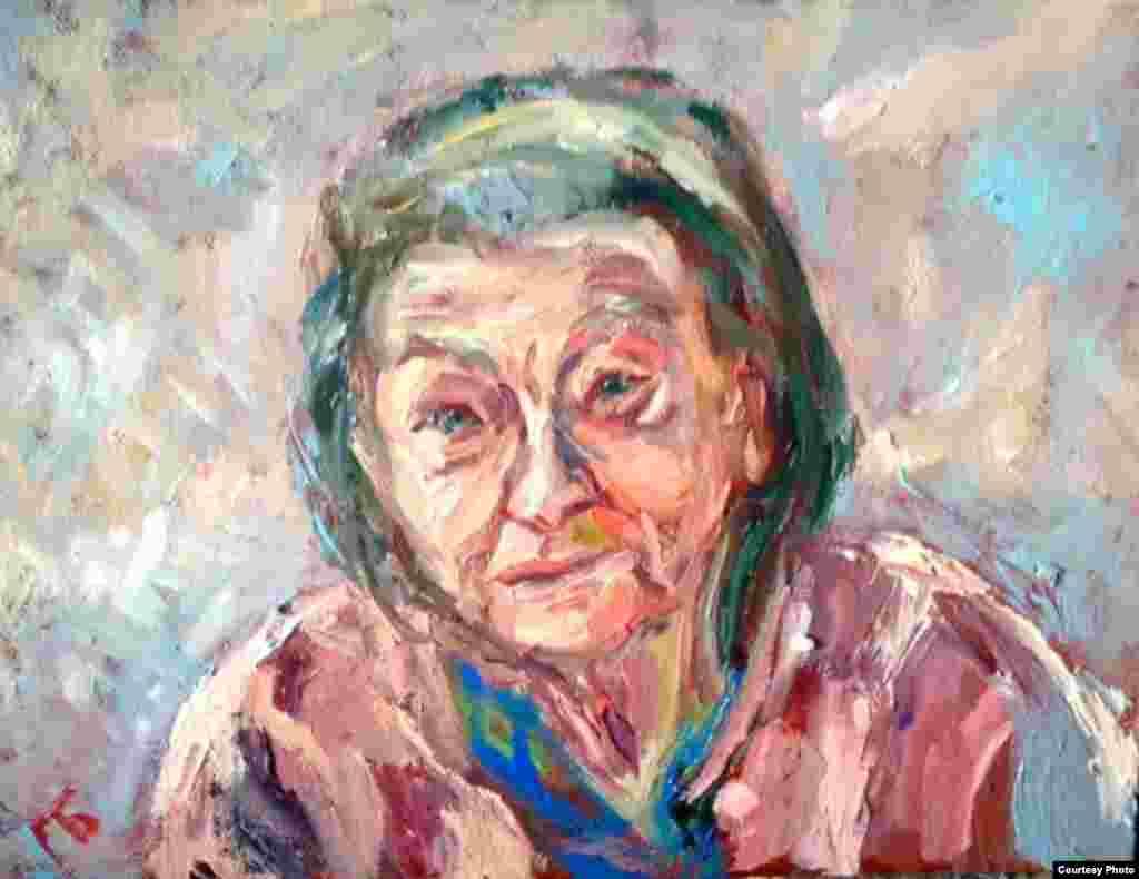 Татьяна Михайловна Шустрова (1926). Колхозница, крестьянка. Добрейшая. Альцгеймер.