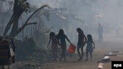 Последствия разрушительного тайфуна на Филиппинах. Декабрь 2014 года
