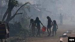 سازمان ملل متحد ترک خانه و سکنی گزیدن یک میلیون شهروند را در پی توفان، یکی از بزرگترین جابهجاییها در شرایط صلح عنوان کرده است.