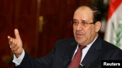 Ирак премьер-министрі міндетін атқарушы Нури әл-Малики.