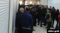 31 марта в т/ц «Кярван» прошла акция протеста
