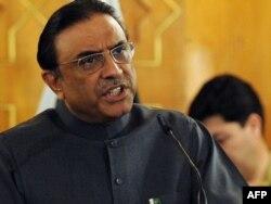 Pakistanyň prezidenti Asif Ali Zardari