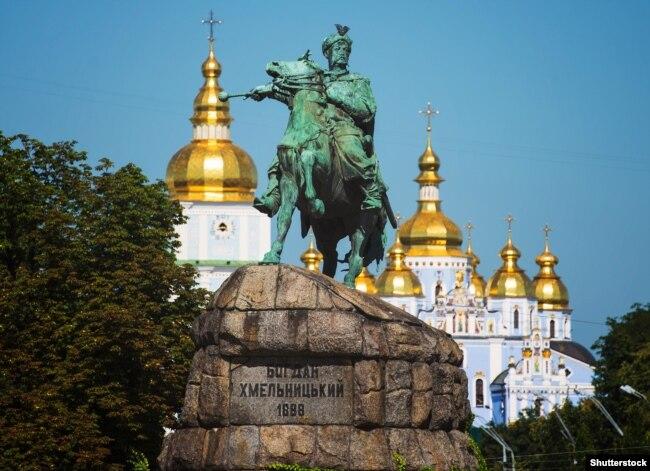 Пам'ятник гетьману Богдану Хмельницькому в Києві