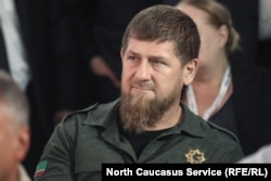 Chechen leader Ramzan Kadyrov (file photo)