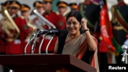 Indian External Affairs Minister Sushma Swaraj (file photo)