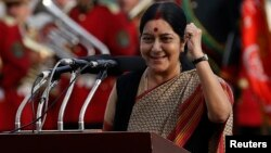 Үндістан сыртқы істер министрі Сушма Сварадж.