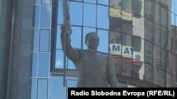 Споменик на Димитар Поп Георгиев - Беровски во Скопје.