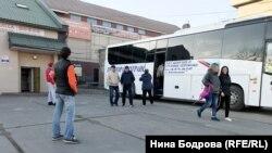 Автовокзал в Пограничном